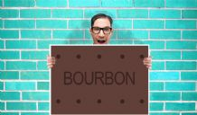 Bourbon Biscuit Art - Wall Art Print Poster Pick A Size - Humour Art Geekery